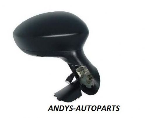 FIAT PUNTO 2006 ONWARDS  Door Mirror Electric Type - No Temperature Sensor - Black textured Cover